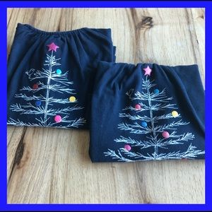 Baby Gap Blue  Christmas tee shirts size 3T & 4T.